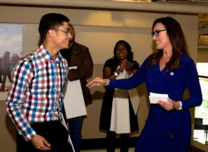 NAHJ Chicago Chapter 2017 scholarship check presentations