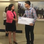 iNAHJ Chicago Chapter 2017 scholarship check presentations
